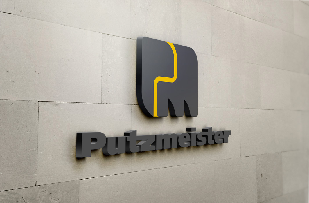 putzmeister-3D-Wall-Logo-corporate-design-Business-to-Business-Marketing-die-gruppe-werbeagentur-stuttgart-markante-b-to-b-kommunikation
