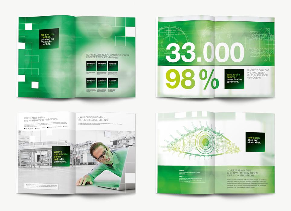 norelem-big-green-book-B2B-Agentur-die-gruppe-werbeagentur-stuttgart-markante-b-to-b-kommunikation